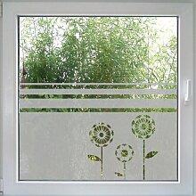 Fensterdekor more Flowers von Create&Wall - idealer Sichtschutz für Ihr Fenster