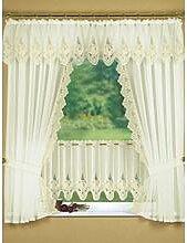 Fensterdekoration in verschiedenen Farben, Größe