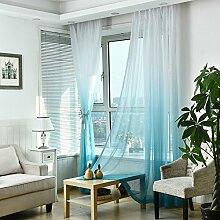 Fensterdekoration, Vorhänge, transparent, für
