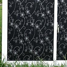 Fensterfolie fenster papier window sticker selbstklebend schwarz sonne wärmedämmung sonnenschutz undurchsichtig undurchsichtig toilette-A 80x200cm(31x79inch)
