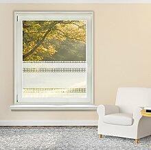 Fensterfolie Glasdekor Sonnenschutz Sichtschutz Badezimmer Küche Flur Eingang (50x80cm)