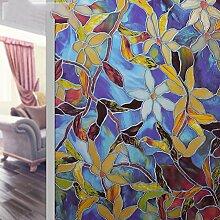 Fensterfolie klebstoff statische elektrizität europäisch toilette windows und windows light undurchsichtig fenster papier sonnenschutz-A 75x200cm(30x79inch)