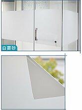 Fensterfolie Mattglasfolie Datenschutz Fenster Film Geeignet für alle Arten von glatten Glasoberfläche (40 X 400cm)