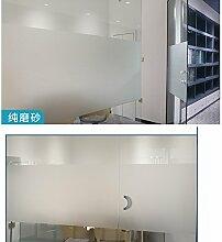 Fensterfolie Mattglasfolie Datenschutz Fenster Film Geeignet für alle Arten von glatten Glasoberfläche (60 X 400cm)