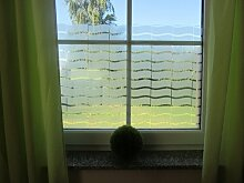 Fensterfolie Milchglasfolie Cortina 6,57€/m² Selbstklebend 122cm (1mx122cm)