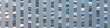 Fensterfolie, queence, halbtransparent B/L: 90x50