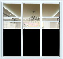 Fensterfolie Schwarz, Hifina Fensterfolie