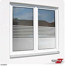 Fensterfolie Sonnenschutzfolie Sichtschutzfolie Glasdekor Stripes - Glasdekorfolie von ORACAL® + Maßanfertigung