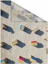 Fensterfolie Strandkörbe, LICHTBLICK, blickdicht,