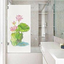 Fensterfolien 3D Glasfolie Gut Aussehende Lotus