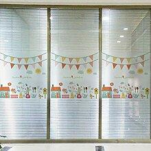 Fensterfolien Licht Transluzent Milchglas Bad