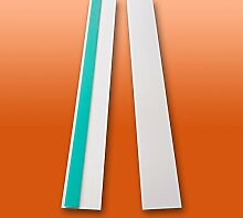 Fensterleiste Flachprofil PVC selbstklebend 40mm