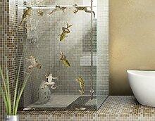 Fenstersticker No.646 Froschbad Frosch Frösche