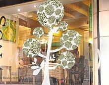 Fenstersticker No.TA47 Balloon Tree pflanze berry
