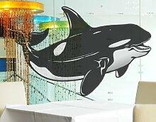 Fenstersticker No.TA51 Orca Ozean Meer Tiefsee