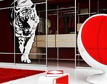 Fenstersticker No.TA6 Tiger Tiere Raubkatze Asien