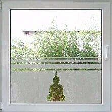 Fenstertattoo Buddha von Create&Wall: Sichtschutz