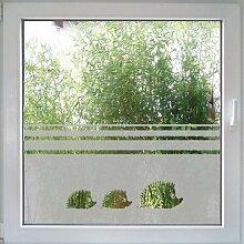 Fenstertattoo Hedgehog Igel von Create&Wall - niedlicher Sichtschutz nach Maß