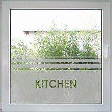 Fenstertattoo Kitchen - Century von Create&Wall:
