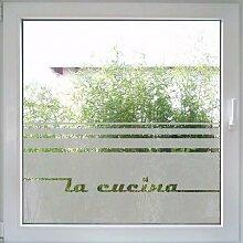 Fenstertattoo La Cucina - Magneto von Create&Wall: