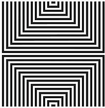 Fenstertattoo No.UL1058 Quadrat Variation II
