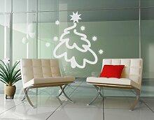 Fenstertattoo No.UL547 Tannenbäumchen Weihnachten