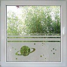 Fenstertattoo Saturn von Create&Wall - moderner
