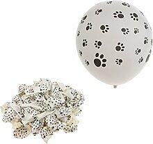 Fenteer 100x Helium Latexballon Luftballon Deko