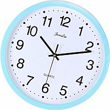 Fenteer Einfache Design Wanduhr Bürouhr Uhr,