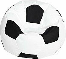 Fenteer Fußball Gedruckt Sofa Sitzsackbezg