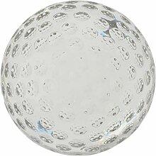 Fenteer Golfball Kristallkugel Fotokugel Glaskugel