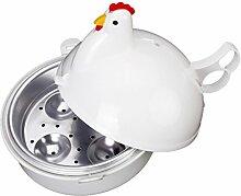 Fenteer Huhn Form Eierkocher Kochformen für Eier