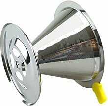 Fenteer Kaffeefilterhalter Filtertütenhalter -