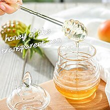 Fenteer Klein Honigtopf Honigspender mit Deckel