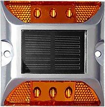 Fenteer LED Pflasterstein Bodenleuchte Gartenstrahler Bodeneinbauleuchte Außenleuchte IP68 - Gelb