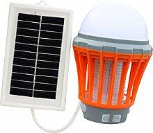 Fenteer Solarbetriebener Insektenvernichter UV