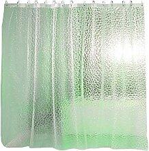 Fenteer Transparent Duschvorhang Wandbehang