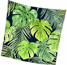 Fenteer Tropische Pflanzen Tischdecke Tischtuch