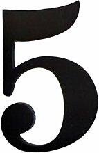 Fenteer Türnummer Selbstklebend Hausnummer