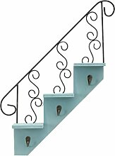 Fenteer Vintage Treppen Form Wandregal Wandboard