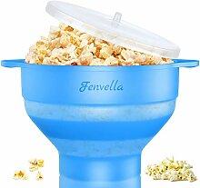 Fenvella Popcorn-Popper, Mikrowellen-geeignet,
