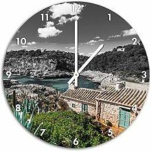 Ferienhaus an der spanischen Küste B&W Detail,