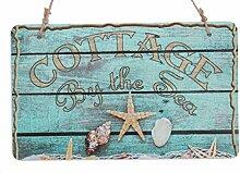 Ferienhaus direkt am Meer mit rustikalem Zeichen