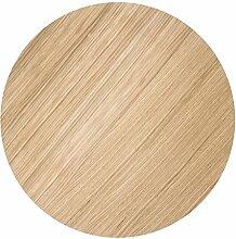 Ferm Living 3187 Deckel Tischlatte Top für Wire Basket Top - Oiled Oak - Large geölte Eiche / Tischplatte für die Wire Bakets von Ferm Living