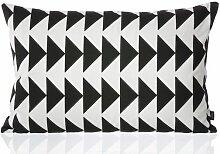 Ferm Living Black Arrow Cushion Kissen (l) 60 X (b) 40 Cm