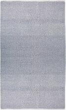 ferm Living - Blend Tischdecke, 140 x 210 cm, blau