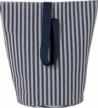 ferm LIVING - Chambray Korb Large, blau-grau
