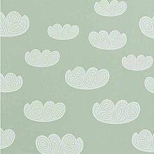Ferm Living Cloud Tapete Mint (l) 1005 X (b) 53 Cm