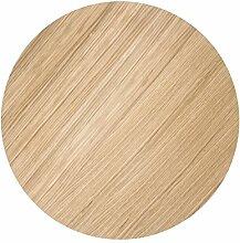 Ferm Living Deckel Tischplatte für Wire Basket Top - Oiled Oak - Medium geölte Eiche mittel / Tischplatte für die Ferm Living Wire Baskets mittel