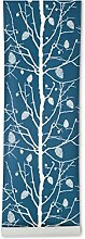 Ferm Living Family Tree Wallpaper - Petrol